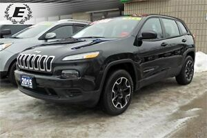 2015 Jeep Cherokee Sport | DONT PAY FOR 6 MONTHS!!! OAC