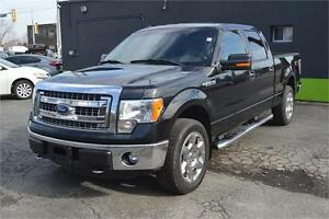 "2013 Ford F-150 4WD SuperCrew 145"" XLT, LEATHER SEATS"