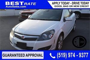 SATURN ASTRA XR - APPROVED IN 30 MINUTES! - ANY CREDIT LOANS