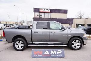 2010 Dodge Ram 1500 CREW 4x4 5.7 CHROME PKG CAMERA SPORT SHIFTER