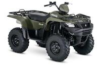 2018 SUZUKI 500 KING QUAD WITH WINCH AND 3 YEAR WARRANTY Thunder Bay Ontario Preview