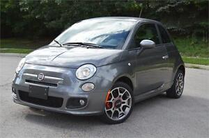 2012 Fiat 500c Sport • Certified/ E-Test • 1 Year Free Warranty