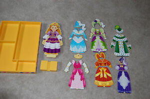 Magnetic wooden dress up Princess Elise by Melissa and Doug