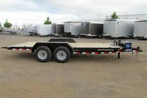 2018 TILT DECK 18 FT TANDEM AXLE  TILT DECK HYDRAULIC POWER UP/P