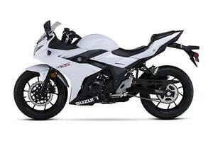 2018 Suzuki GSX 250R -Factory Order - No Payments for 1 Year**