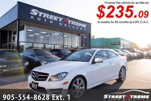 2014 Mercedes-Benz C350|BLUETOOTH|CAMERA|ACCIDENT FREE|PANOROOF