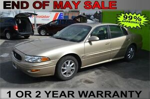 2005 Buick LeSabre Limited, GUARANTEED APPROVAL WITH $1,500 DOWN