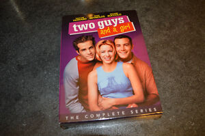 Two Guys and a Girl: The Complete Series DVD Box Set