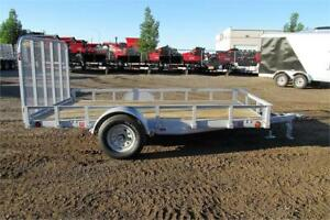 2017 SINGLE AXLE UTILITY TRAILER 12FT W/GATE (3500LBS GVW)