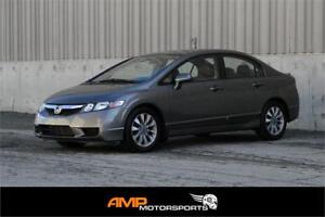 2010 Honda Civic EX-L - LEATHER, CLEAN CARPROOF, 3 YR WARRANTY