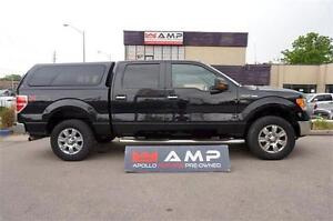 2010 Ford F-150 XLT XTR CHROME CREW 4X4 5.4L BOARDS TOPPER.