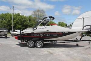 2013 Malibu Wakesetter 21 VLX, 106 HOURS! IN-HOUSE FINANCING!