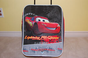 Lightning McQueen carry on size luggage and other stuff