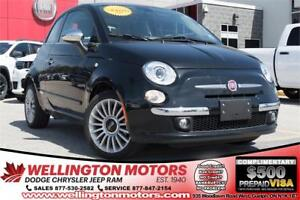 2017 FIAT 500 Lounge / Leather / Tinted Glass / Glass Roof .....