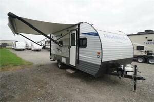 Light Weight Used RV Trailer with Bunks: $62 per payment!