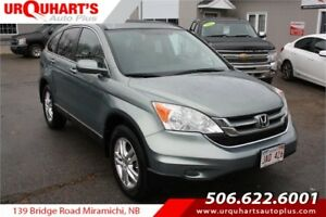 2011 Honda CR-V EX-L! 4WD! REDUCED!!
