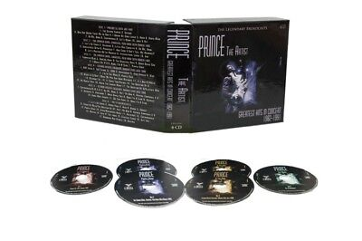 PRINCE - THE ARTIST: GREATEST HITS IN CONCERT 1982-'91- 6 CD BOX SET - ON SALE!!
