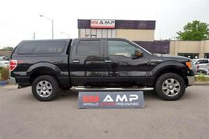 2010 Ford F-150 XLT XTR CHROME CREW 4X4 5.4L BOARDS TOPPER!