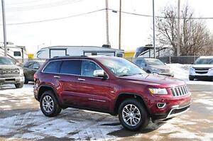 2016 Jeep Grand Cherokee Limited Low Kms! Drive Home Same Day**