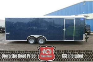 2020 8.5FT X 24FT Pace Journey Cargo Trailer (10,400LBS GVW)