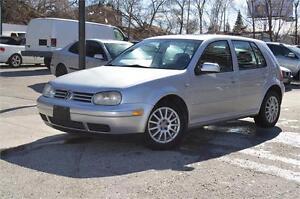 2005 Volkswagen Golf TDI Diesel • Certified w/ Emissions