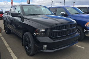2016 RAM ST CREW CAB BLACK APPERANCE GROUP YOUR NEW RIDE !!