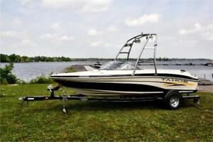 PRICE REDUCED - 2007 TAHOE Q 4 BOW RIDER/WITH WAKE TOWER