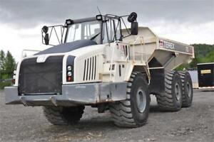Terex TA400 Rock Truck - Demo / Rental Unit 40 Ton Rock Truck