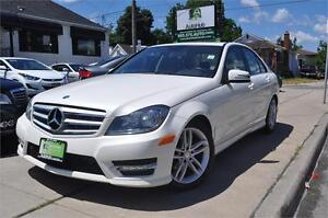 2012 Mercedes-Benz C-Class C250-SUNROOF-LEATHER-ALLOY