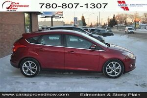Automatic parking, Navigation, Leather Loaded  2012 Ford Focus