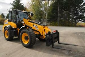 JCB TM320 Telescopic Wheeled Loading Shovel - 125 hp | Lift 17'