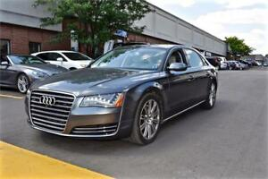 2014 Audi A8 L 3.0L TDI, REAR ENTERTAINMENT, NO ACCIDENT
