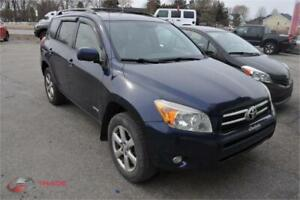 2007 TOYOTA RAV4 LIMITED AUTOM CLIMATISEE 4CYLINDRES 4X4 PROPRE