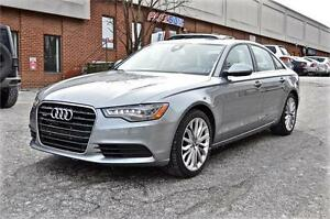 2013 Audi A6 3.0T PRESTIGE, NAV, REAR VIEW CAMERA, NO ACCIDENT