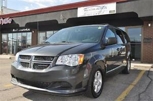2012 DODGE GRAND CARAVAN FULL STOW&GO REAR CLIMATE