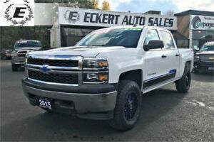 2015 Chevrolet Silverado LS CREW CAB 4X4 WITH REVERSE CAMERA