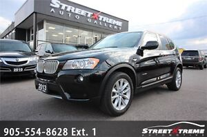 2013 BMW X3 35i |BACKUP CAM|PANO ROOF|AWD|ACCIDENT FREE/XENON
