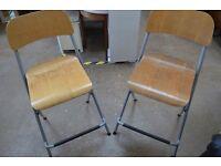 Ikea Tall chairs / Stools (x2)