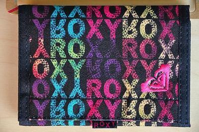Roxy Geldbörsen Wallets (Roxy Geldbörse Wallet HASH ROX Klettverschluß schwarz Neu)