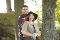 Engagement photosession in Barrie