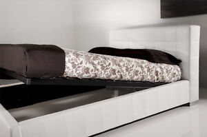 ►►Blow out SALE- Brand New MODERN Storage LEATHER bed