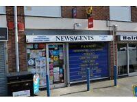 WELL ESTABLISHED NEWSAGENTS BUSINESS REF 146326