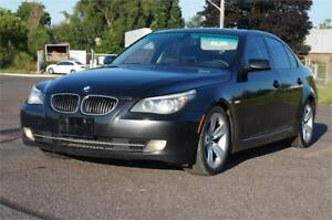 2008 BMW 5 Series 528i Loaded With parking Sensor Very Clean!!