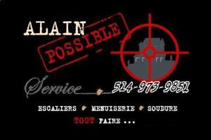 Installation ; ALAIN POSSIBLE Service