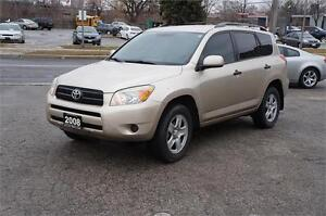 2008 Toyota RAV4 4WD ~ Low KM ~ No Accident ~ Mint Condition!