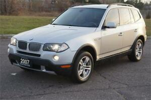 2007 BMW X3 Panoramic SunRoof No Accident