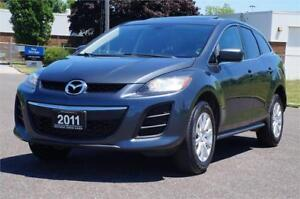 2011 Mazda CX-7 GX *No Accident* Leather - SunRoof Clean Car!