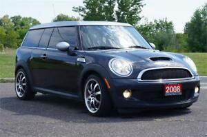 2008 MINI Cooper Clubman S 6MT Very Clean Car!