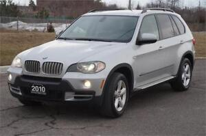 2010 BMW X5 35d AWD ***Diesel** Navigation Sports Pkg Mint!