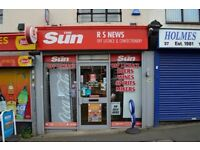 NEWSAGENTS & OFF LICENCE BUSINESS REF 147121